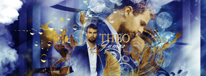 Theo James by blondehybrid