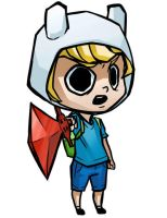 Finn Coloured by sketchbeetle