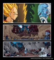DBM chap 40 : Vegeta and Raichi by Fayeuh