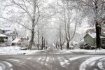 winter on bell street by driventodesign
