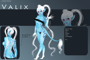 (closed) Auction Adopt - Female Valix #37 by CherrysDesigns