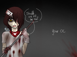 OPEN COLLAB: 'Should we kill 'em now?'  by Hooded13