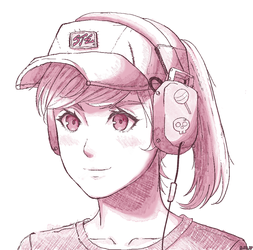 Headphones Doodle by steelzakung222