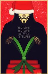 V for vendetta: remember the 25th of december by m7781