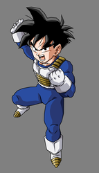 Pre Teen Gohan (Short Hair) by hsvhrt