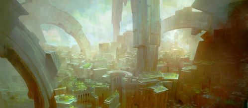 GuildWars2 City by TomScholes