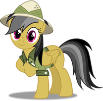 Vector #328 - Daring Do #7 by DashieSparkle