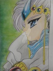 Guru Clef - Magic Knight Rayearth by EvannaRossier