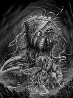 Shoggoth by HrvojeSilic