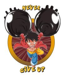 Luffy Never Gives up by JazylH