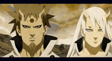 Naruto 681 Blood Of Brothers by IITheYahikoDarkII
