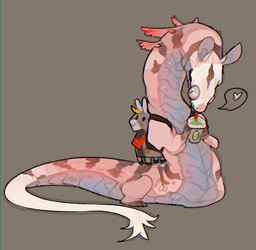 more snakes with leggies / MILKSNAKE [ CLOSED ] by Dragonpunk15