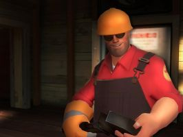 Grinning Engi by DizNot
