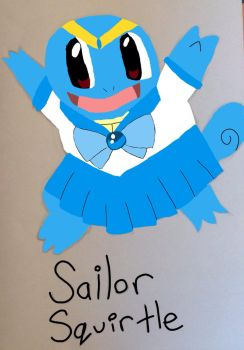 Sailor Squirtle! by SailorMoonFan7