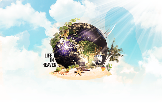 Life in heaven by Cormdesign