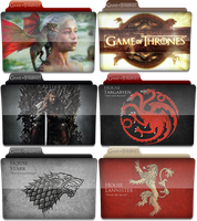 Icon Game of Thrones TV Serie by lariwinkie
