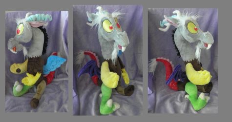 Discord Plush by Pastelblueunicorn