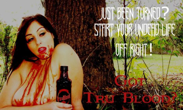 Tru Blood Vampire Ad 08 by MSundinPhotography