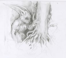 The Hare by Velbette