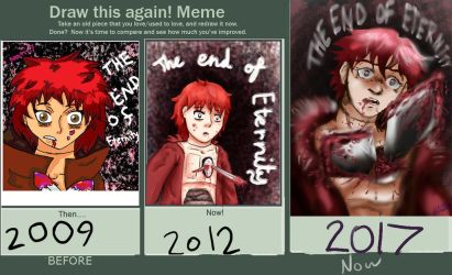 Sasori Draw-This-Again-Again - The End of Eternity by AkatsukiMemberWoolfy
