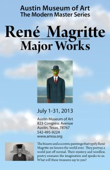Magritte Poster by PleasantDoom