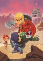 Masters of the universe by scoppetta
