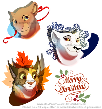 Christmas gifts batch 1 by MaxPaineVolumn