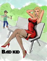 Bad kid! by girib