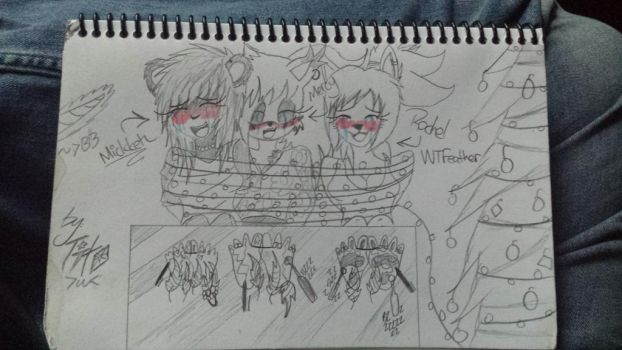 Christmas Naughty Victems Part 3 Mickk n WTFeather by That-Paranoid-Zombie