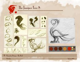 VisDev Project- The Juniper tree- Bird Concept by Riskyo