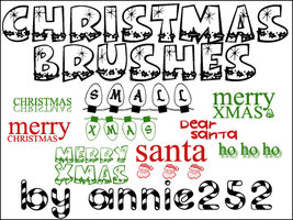 Christmas Brushes01 by annie252