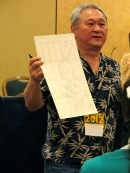 Stan Sakai at ALA 2011 by lanie100