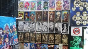 Tarot Display at Regeneration WHO 2018 Booth by SouthParkTaoist