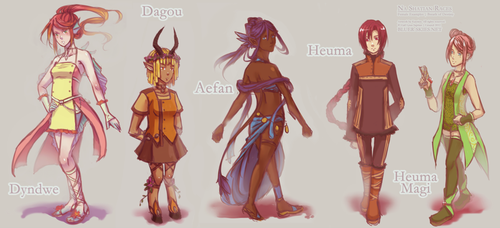 Girls of Destiny by Kaorien