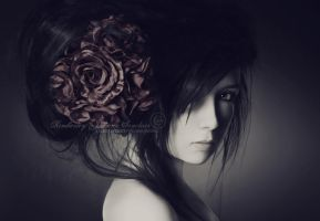 With Roses In My Hair by xKimJoanne