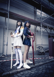 KILL la KILL I by kazenary