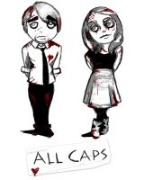 All Caps: Shirt by 89ravenclaw
