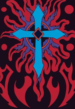 Tribal-cross by DaveErving