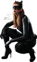 The Dark Knight Rises Catwoman Render by Davian-Art