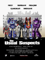 The Usual Suspects TF Style (Commission) by Elita-One-Arts