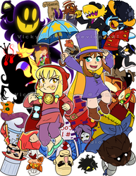 A Hat in Time by VickyViolet