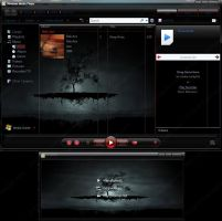 WMP 12 Skin BlackandRed by PCGOD1