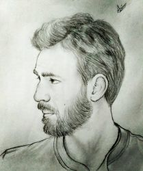 Chris Evans by Alfoxer2000