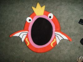 Magikarp cat bed. by spookysculpter