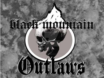 Black Mountain Outlaws Band Logo by DeadSkyDesigns