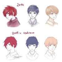 Redrawing stuff by Hiba-tan