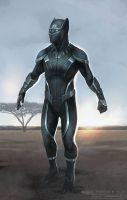 Marvel Cinematic Universe Black Panther Concept by browniedjhs