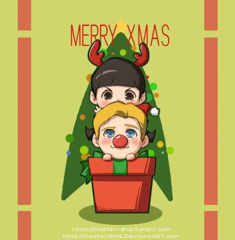 Spirk - Merry Xmas by pastellZHQ