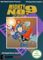Mighty No. 9 Bad Retro Box by TheSoulless