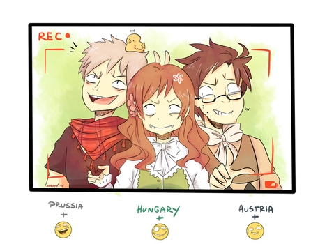 [Tumblr emoji challenge #2] Hetalia by DiachanX
